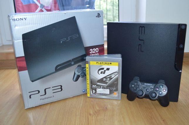 Sony PS3 SLIM 320GB Pad Sony Gra Okablowanie HDMI Wysylam Pobraniem
