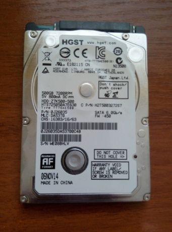 HDD для ноутбука не исправный, под восстановление.