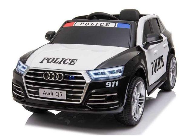 POLICYJNE Audi Q5 Radiowóz Wóz policyjny Polica Police na akumulator