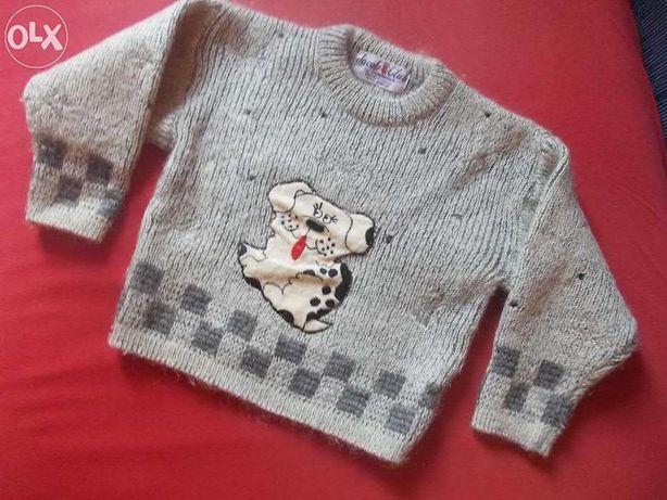 Очень теплый свитер из мохера (Индия)