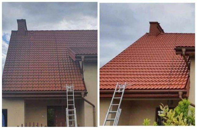 Mycie ciśnieniwe dachów, elewacji, polbruku oraz inne