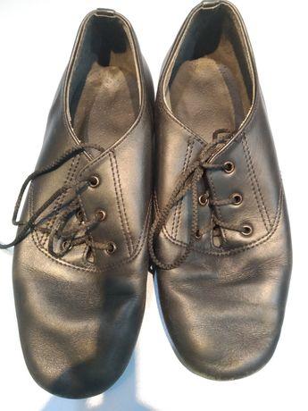 Детские черные танцевальные туфли