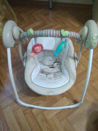 Кресло-качалка Comfort&Harmony Умные качели Львенок
