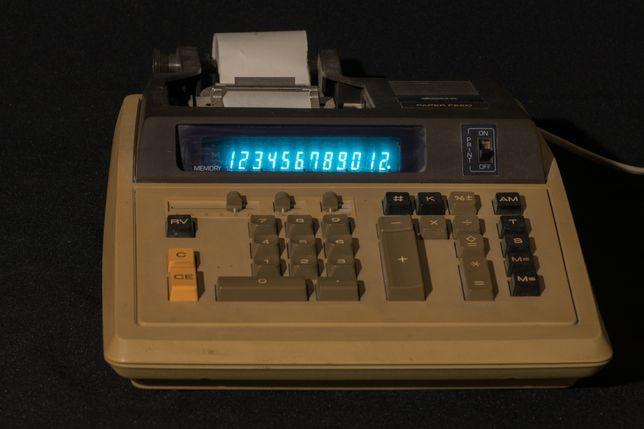 Раритет Калькулятор Canon canola p1218-D . Антиквариат