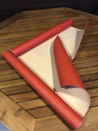 Papel de parede Bege/Vermelho