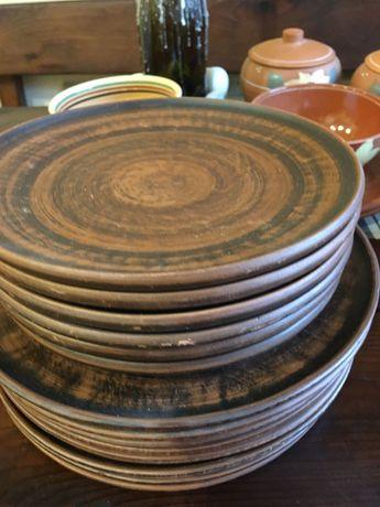 Глиняная посуда (тарелки, пиалы, блюда)