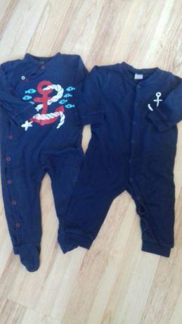 H&M piżamy rozmiar 74 granatowy