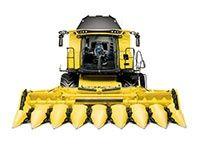 KOSZENIE zbóż, bobiku i kukurydzy na ziarno. New Holland CX8.90
