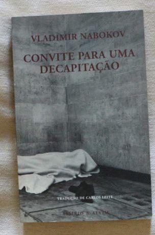 Nabokov, Vladimir  «Convite para uma Decapitação» - 1ª edição