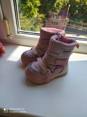 Зимні теплі ботинки