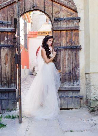 Весільня сукня 2шт. Весільне плаття Свадебное платье Оксана Муха