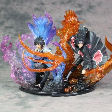 Игрушки аниме фигурки Наруто, Naruto, Сусано Саске, Учиха Итачи, 23 см