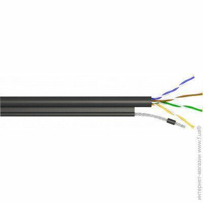 Одескабель Кабель компьютерный монолит UTP КППт-ВП(100) 4x2х0,5 медь