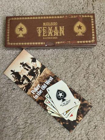 НОВЫЕ Игральные карты покер Marlboro TEXAN No.45 Оригинал США
