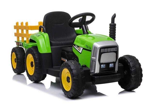 Traktor na Akumulator z Przyczepą XMX611 Różne Kolory Darmowa Wysyłka