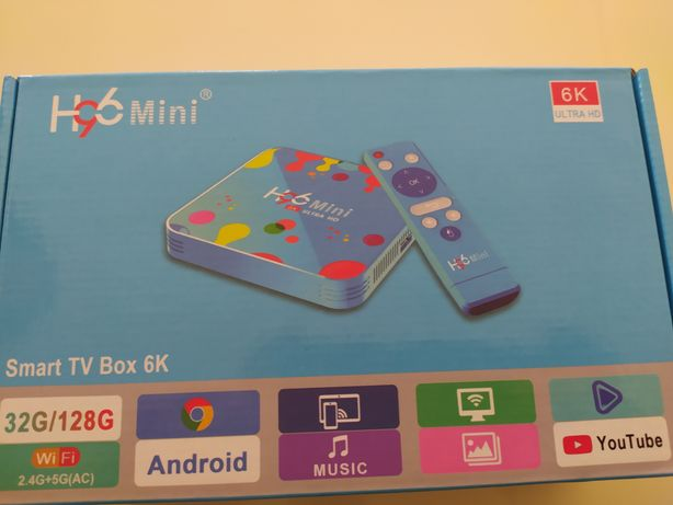 Tv box android 4G H96 H6
