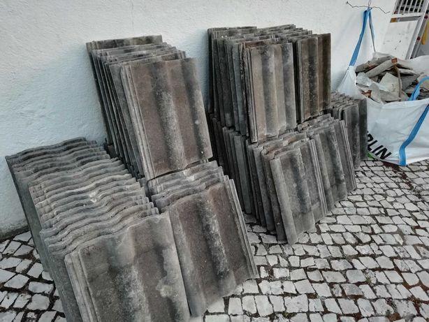 Telhas de cimento