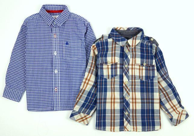 2-pak koszul na długi rękaw 98 (2-3 lata) jak nowe