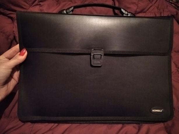 Портфель кейс черный а4
