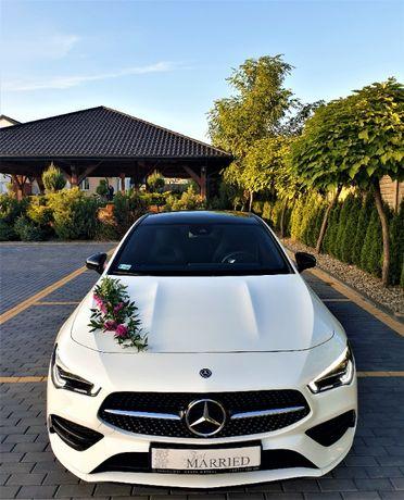 Samochód Auto do ślubu / Nowy Mercedes do ślubu