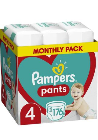 Подгузники-трусики Pampers Pants Размер 4 (9-15 кг) 176 шт
