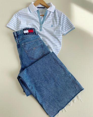 Новые широкие джинсы Tommy Hilfiger