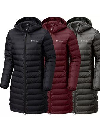 Женская удлинённая куртка пальто Columbia опт.роз
