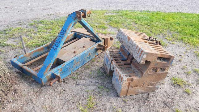 oryginalne obciążenie obciążniki balast Ford ok. 560KG TUZ zetor ursus