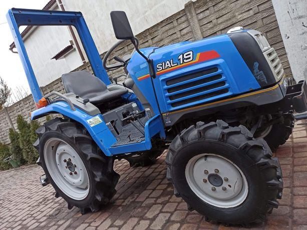 Iseki sial 19 (nie Kubota, yanmar) mini traktor 4x4 ROPS