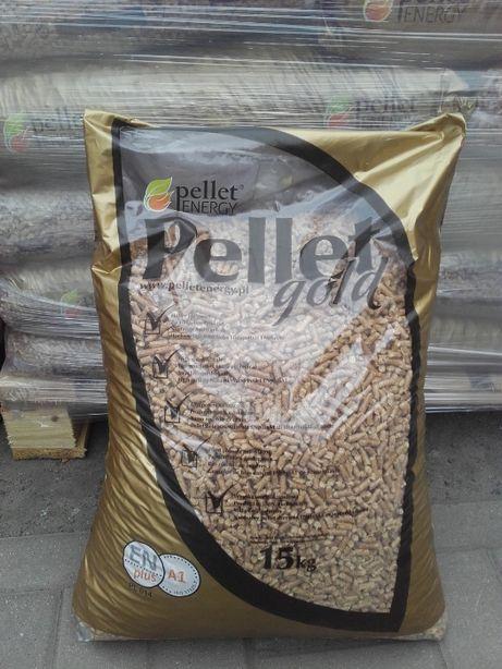 Pellet drzewny 6mm Gold ENplus A1 15kg Pellet Energy Sigma Krzykosy
