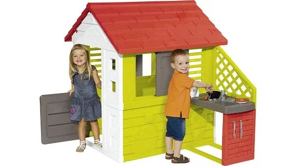 Игровой домик Smoby 810713,810711