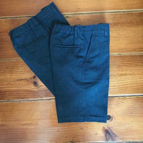 2 calções uniforme / uniform shorts Marks & Spencer 8-9 (134 cm)