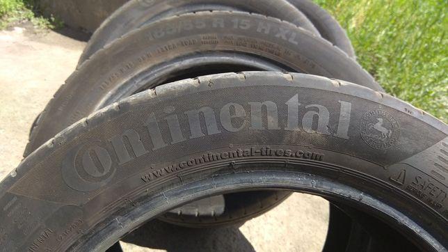 200 грн за 4 колеса Резина Continental 185x55 R15