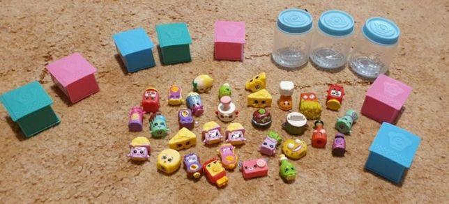 Много разных игрушек