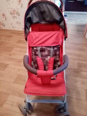 Прогулочная коляска Lionelo Elia красная книжка с одеялом трость
