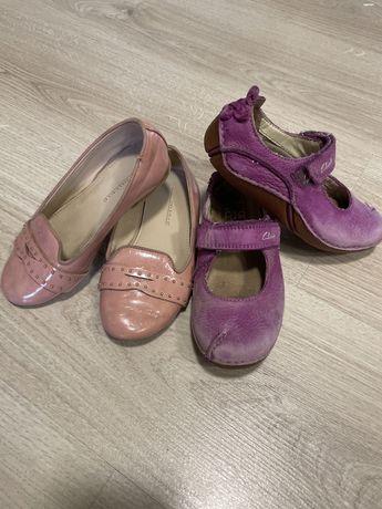 Туфли балетки Zara и макасины Clarks в ПОДАРОК