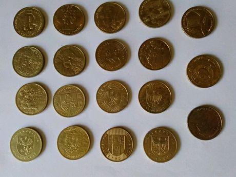 Monety kolekcjonerskie 2zl rok 2004 (19sztuk)