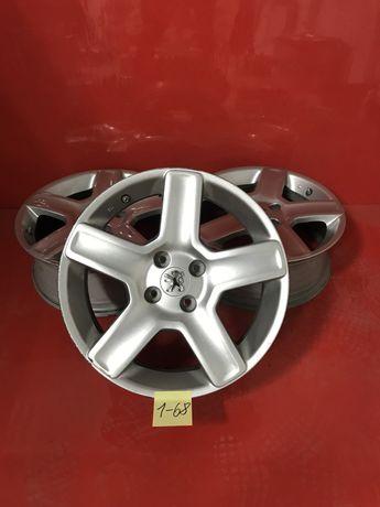 Легкосплавні диски Peugeot R17 5x108 ET31 Citroen C5 Renault