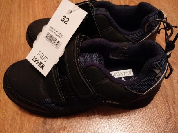 Buty chłopięce na rzepy