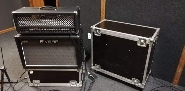 Wzmacniacz gitarowy Rivera KR 55 + 212 Rivera + case.