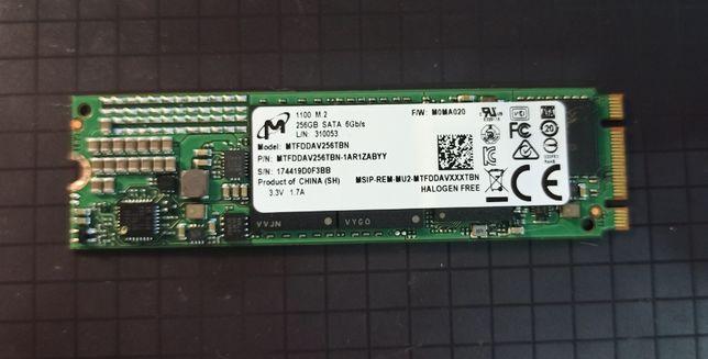 "SSD Micron (Crucial) 1100 256GB M.2"" SATAIII (MTFDDAV256TBN-1AR1ZABYY)"