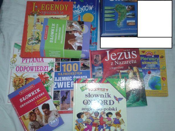 Książki różne dla dzieci i młodzieży - albumy, słowniki, encyklopedie