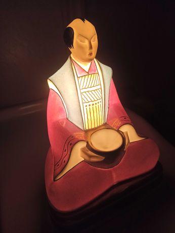 Antyk Roby Paris przepiękna lampa zapachowa ART DECO porcelana