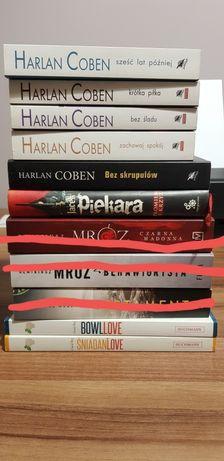 Sprzedam książki - Coben, Piekara, Bez