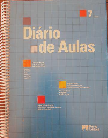 Diário de Aulas - 7 Turmas (Porto Editora)