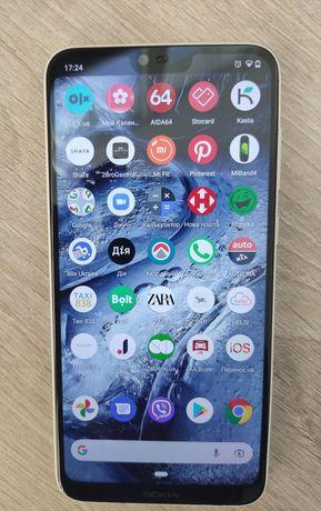 Nokia x6 (6.1+) Мобільний телефон