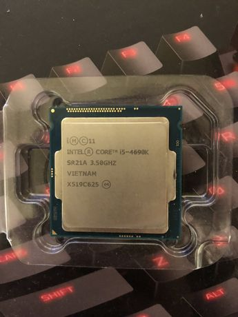 Процеcсор Intel i5 4690k