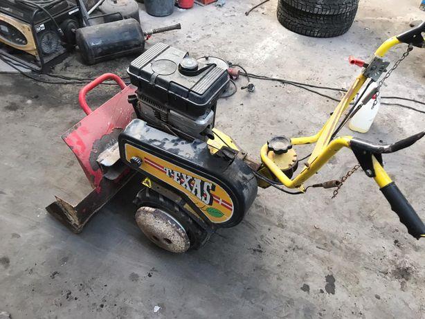 dzik texas traktorek spych pług silnik briggs&stratton