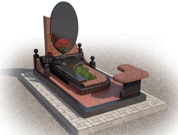 Памятники, вироби з граніту. Заливка фундамента. Граніт, пам'ятники.