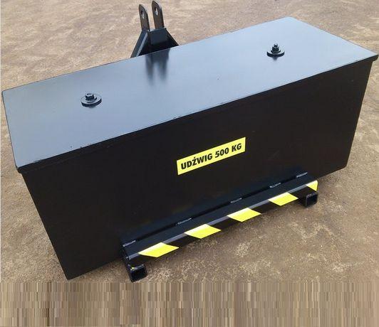 Skrzynia obciążnikowa/przeciw-waga TUR-3 Euro-ramka C360